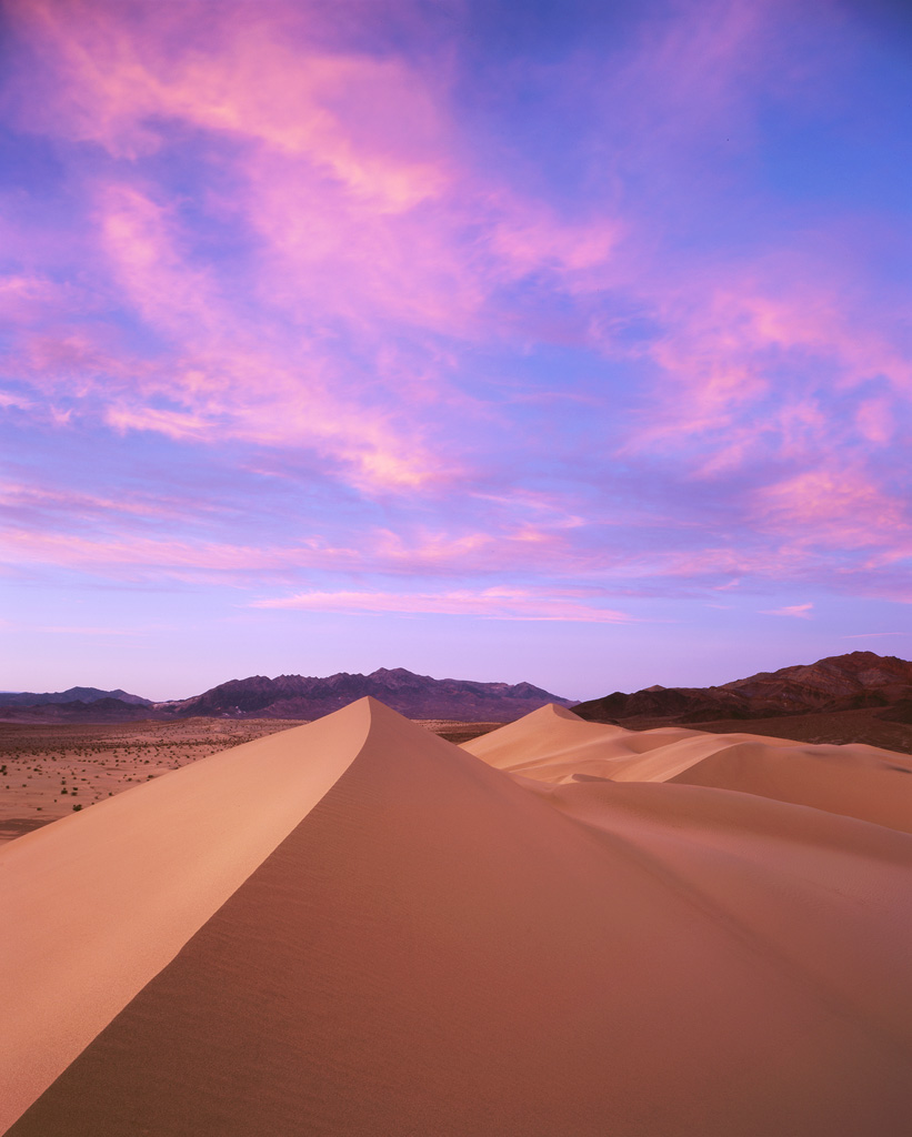 """Ibex Colors"" – A wild sunset over the remote Ibex Dunes.  Prints available."