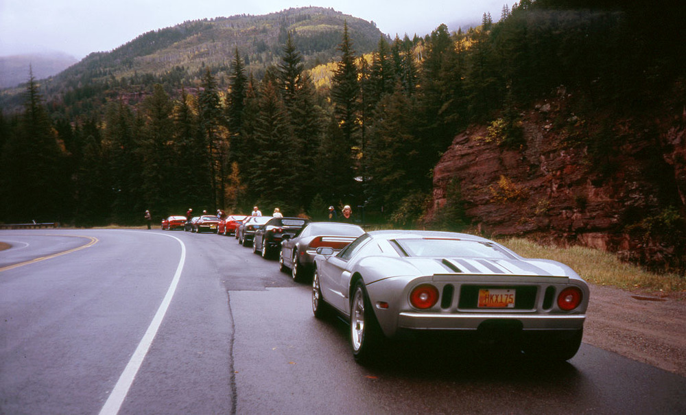 Car club meet-up near Redstone