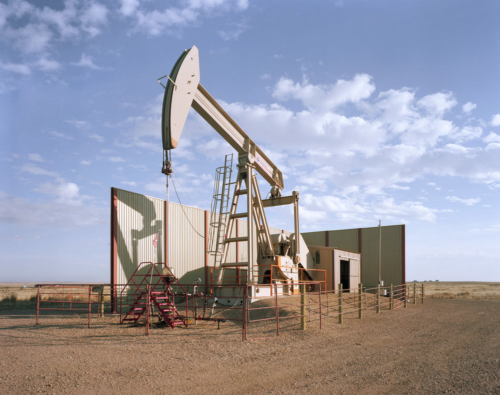 Pumpjack and Sound Wall