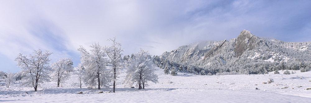 Flatirons Snow