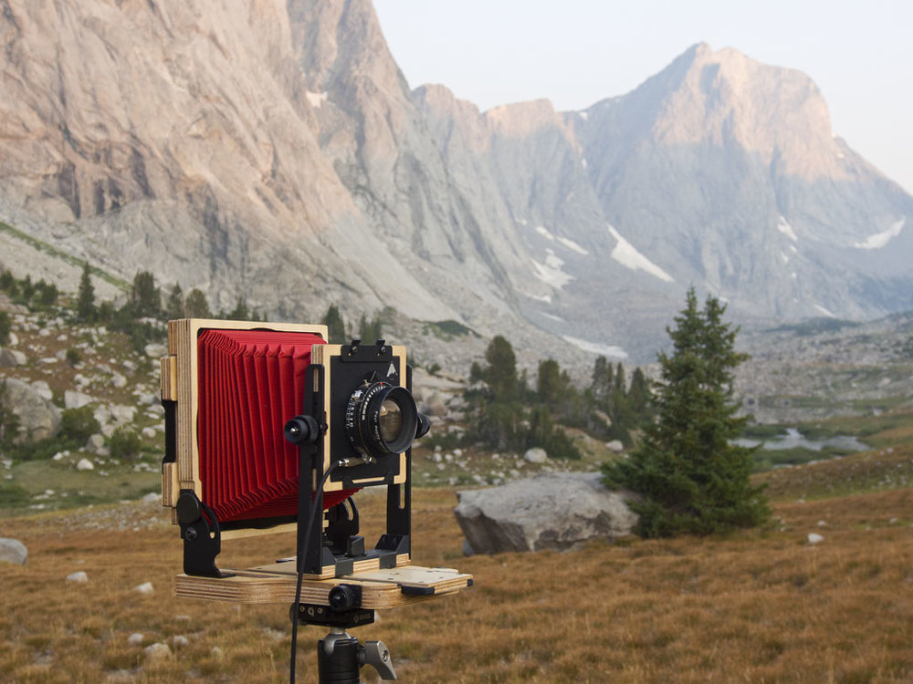 The new Intrepid MK3 4x5, looking good in red in the wild.