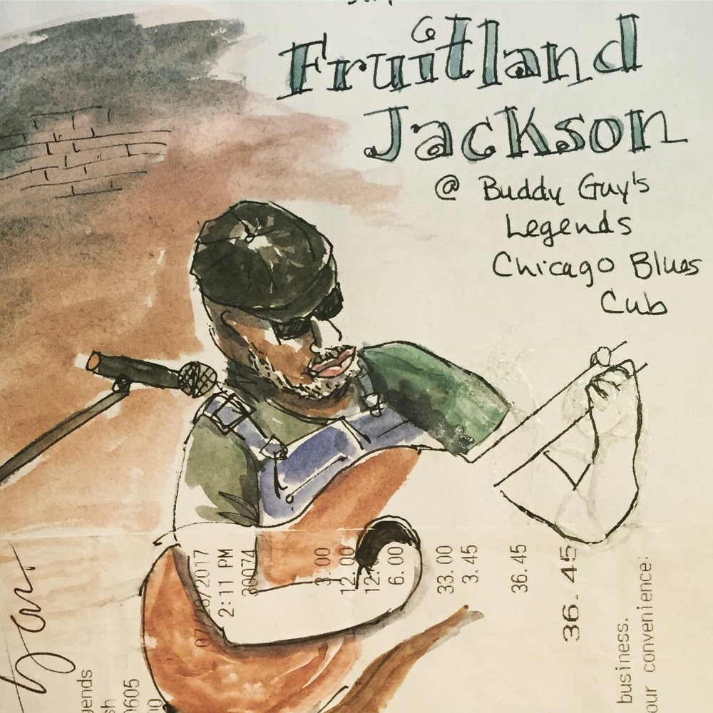 Fruitland, because that's what his parents named him.