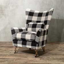 . Allie's chair: Bold & beautiful!