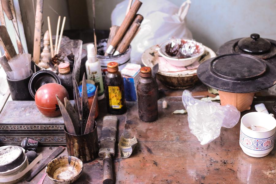 Laquer tools