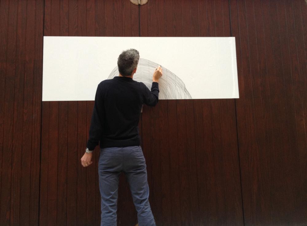 David Baldry ,Interventional Improvisation , SN I P.it, Venice Biennale, 2013,  Arsenale, Venice, Italy