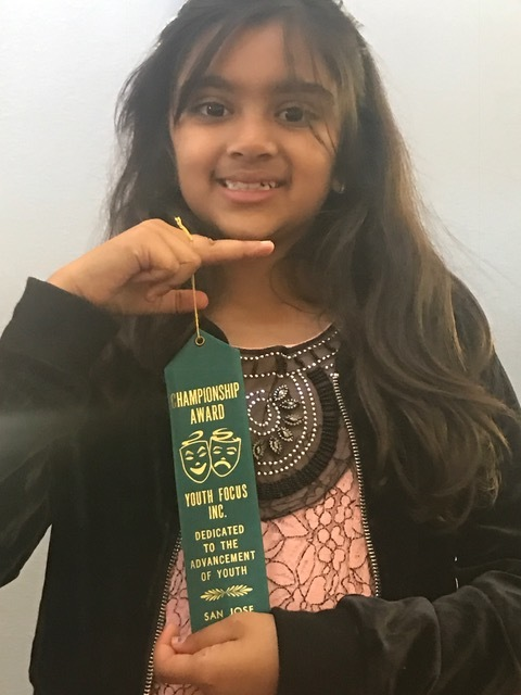 Thanisi Mukkamala - Grand Champion in Vocal Performance