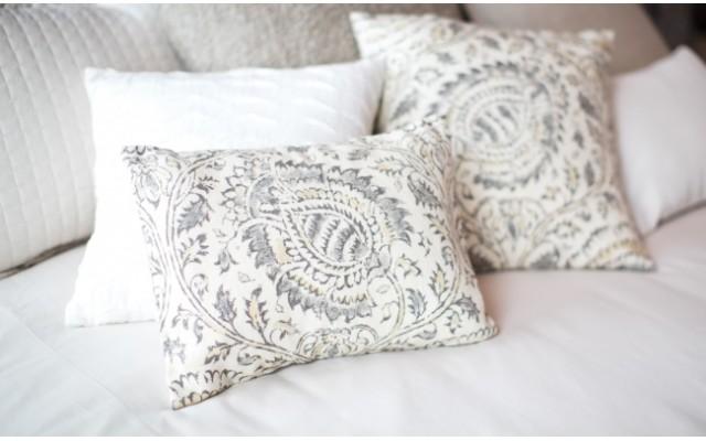 bed decorative pillow size kamala stone