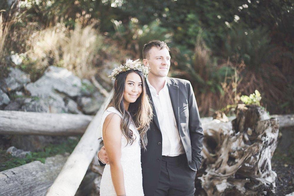 todd + katherine - bowen island | intimate wedding