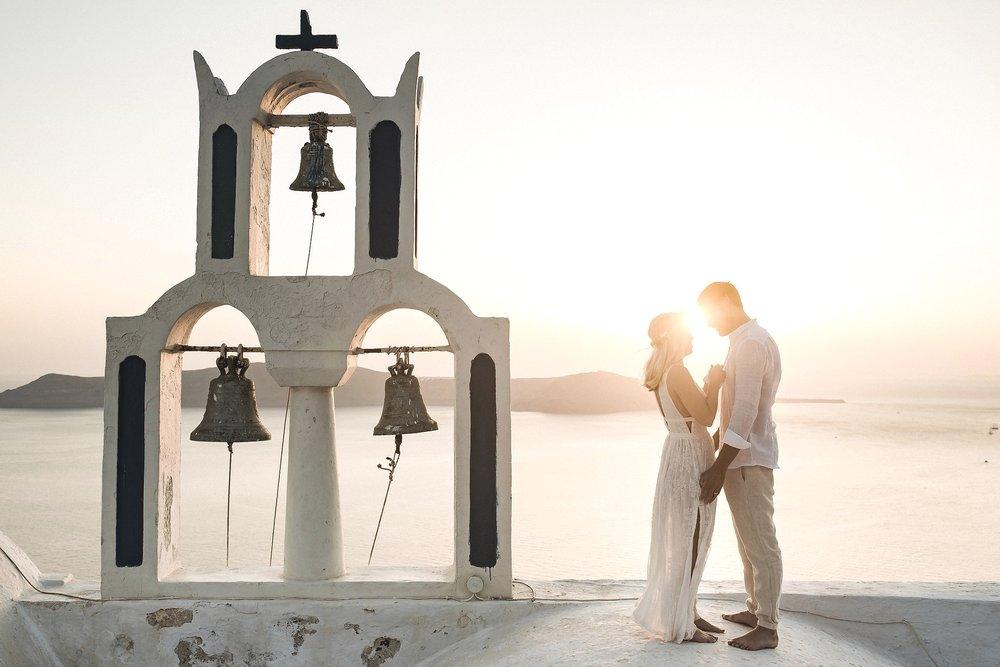 amanda + Adam - santorini | elopement