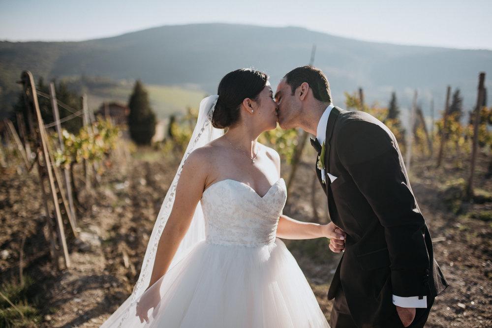 B + p - destination wedding | tuscany