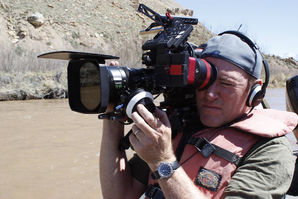 On the Colorado River for Discovery Channel