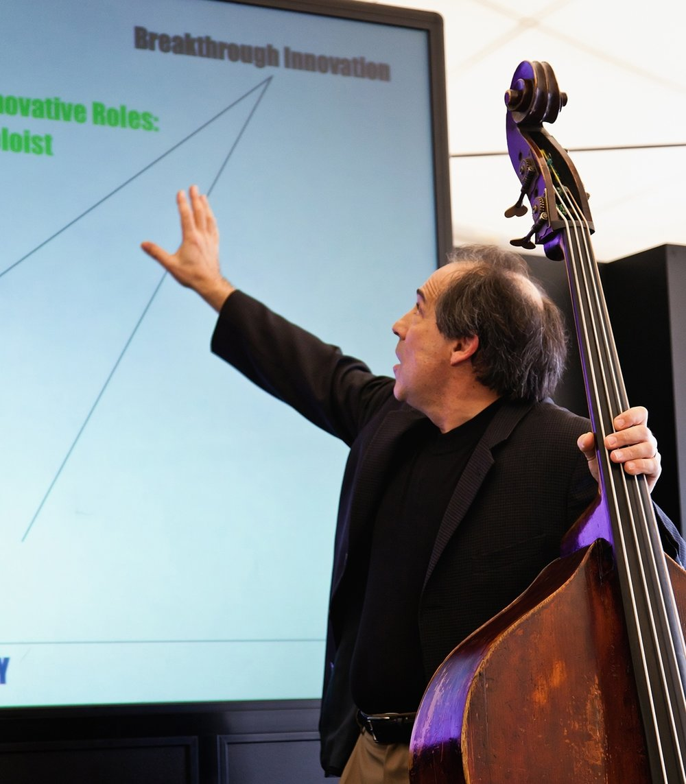 Jazz-Impact Founder, Michael Gold, PhD