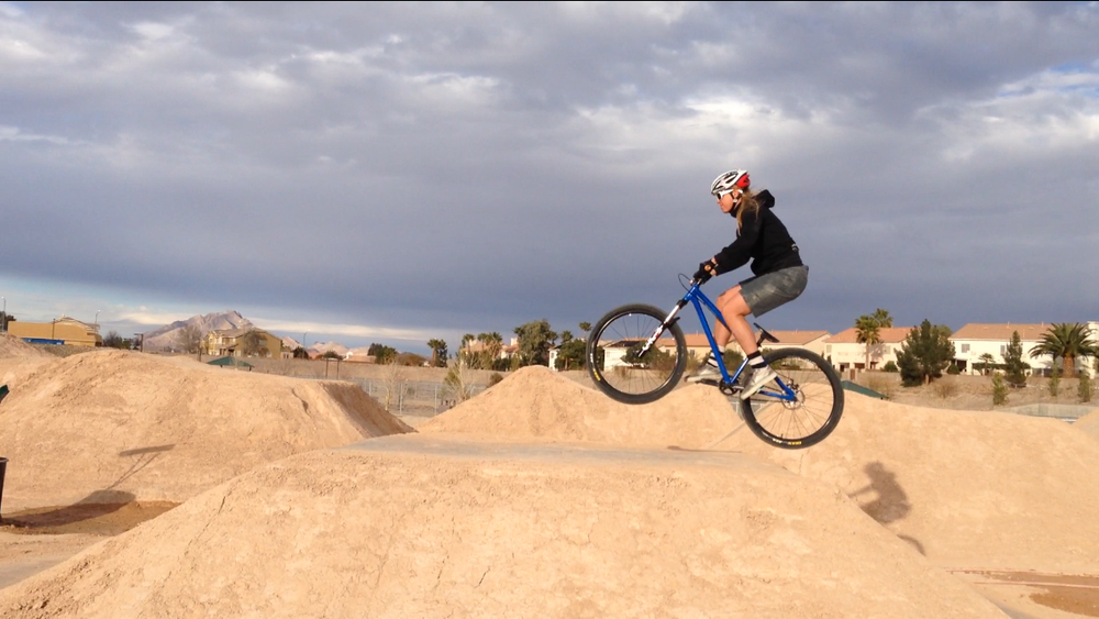 Henderson Dirt Jumps — Women in the Mountains