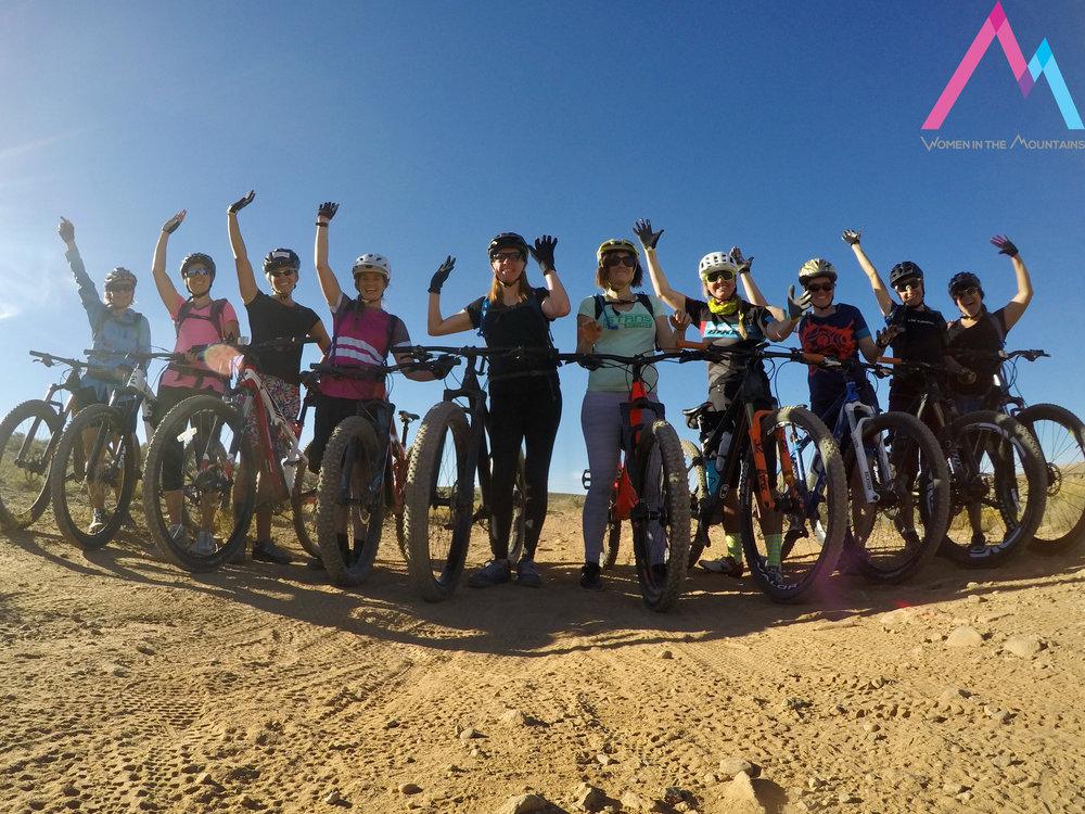Mountain Bike Skills for Women Desert skills