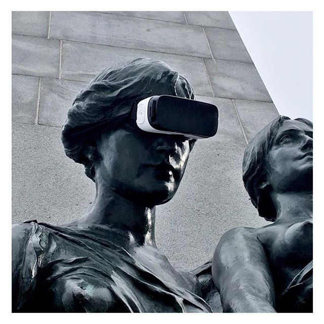 This will make history! #vr #virtualreality #game #videogame #indiegame #htcvive #gearvr #occulus #🕹 #statue #monument #historic