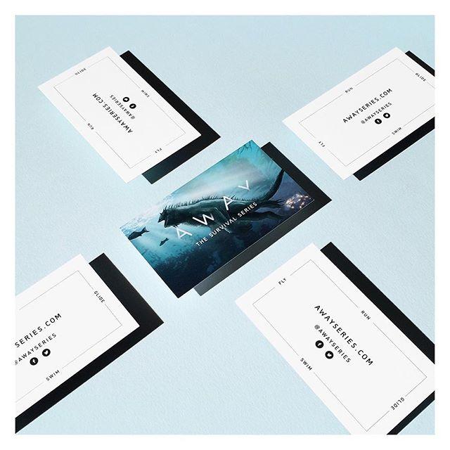 RUN - GLIDE - SWIM - FLY  New cards for @awayseries ✔️ #branding #logo #concept #layoutdesign #graphicdesign #marineiguana #underwater #marinelife #nature #gamecharacter #vr #virtualreality #videogames #game #indiegame
