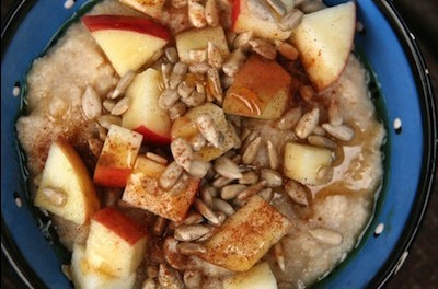 Apple And Oat Porridge