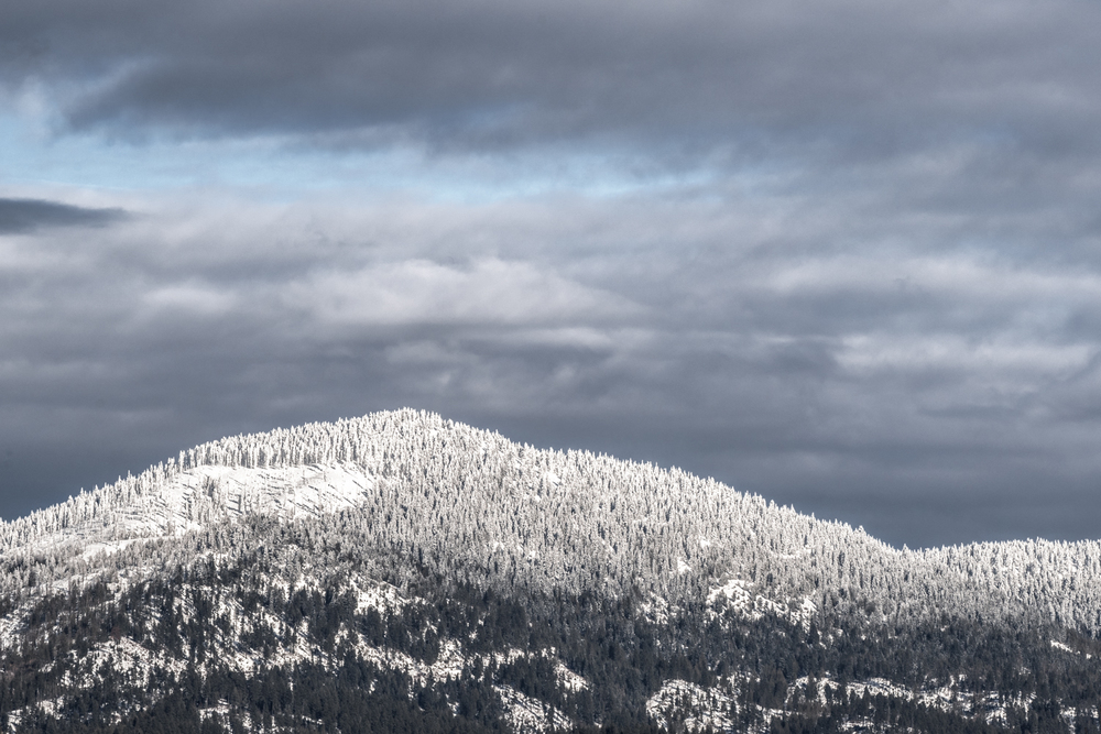 Moscow Mountain in Winter