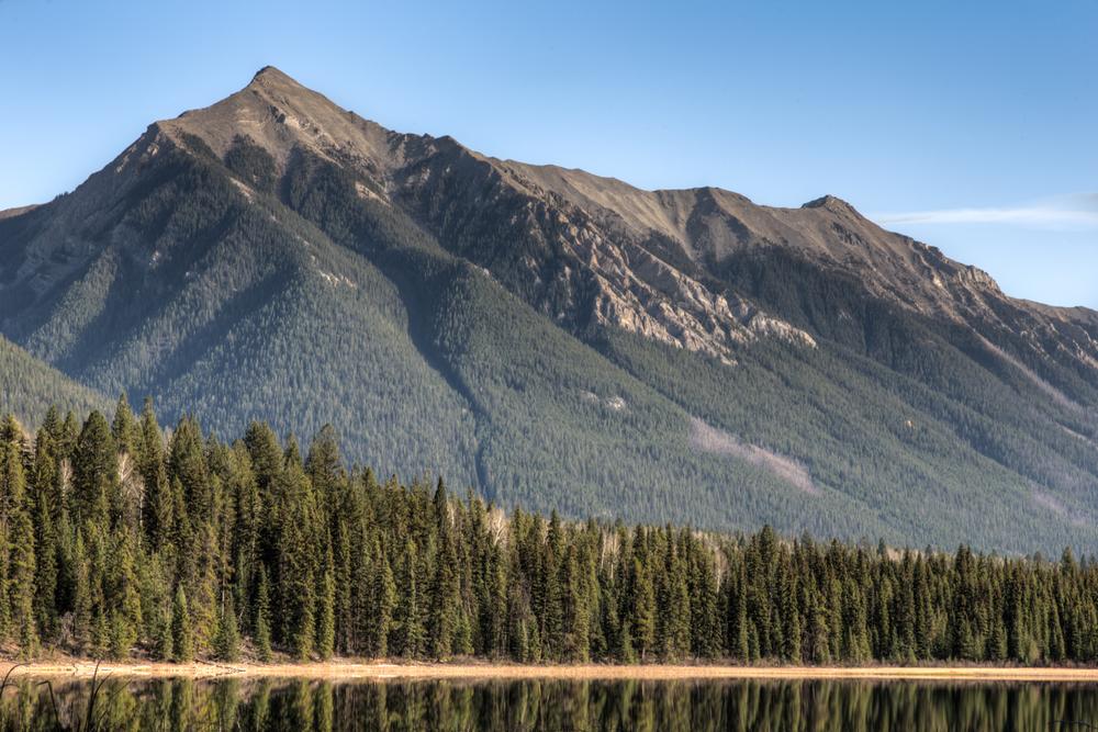 Mountains Beyond Dog Lake