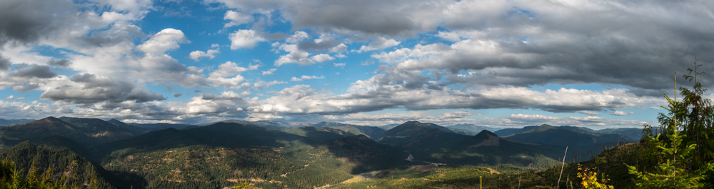 Clearwater Mountain Panoramic