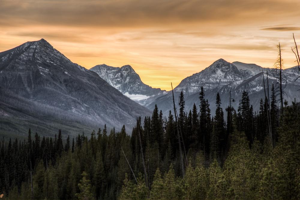 Canadian Rocky Sunset