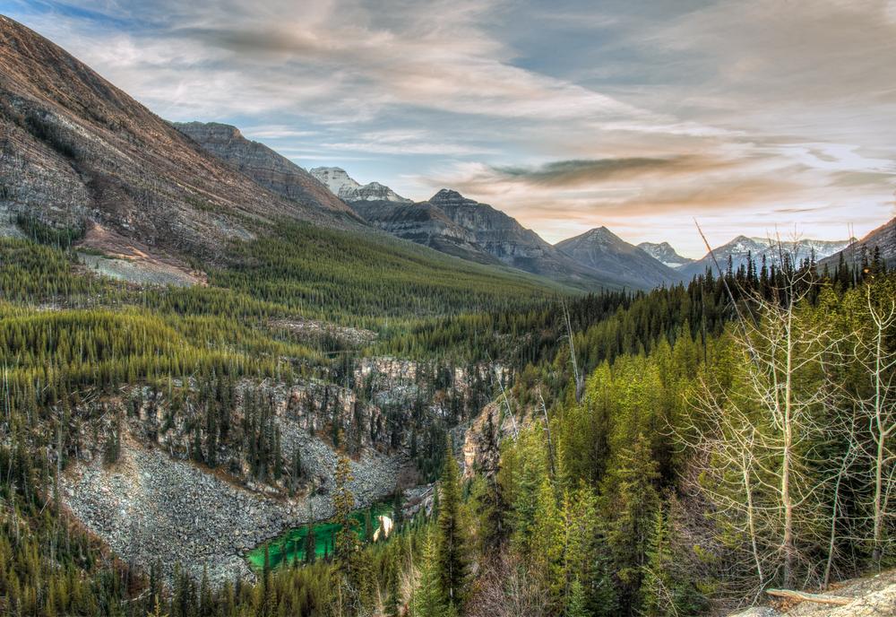 Stanley Peak Landscape