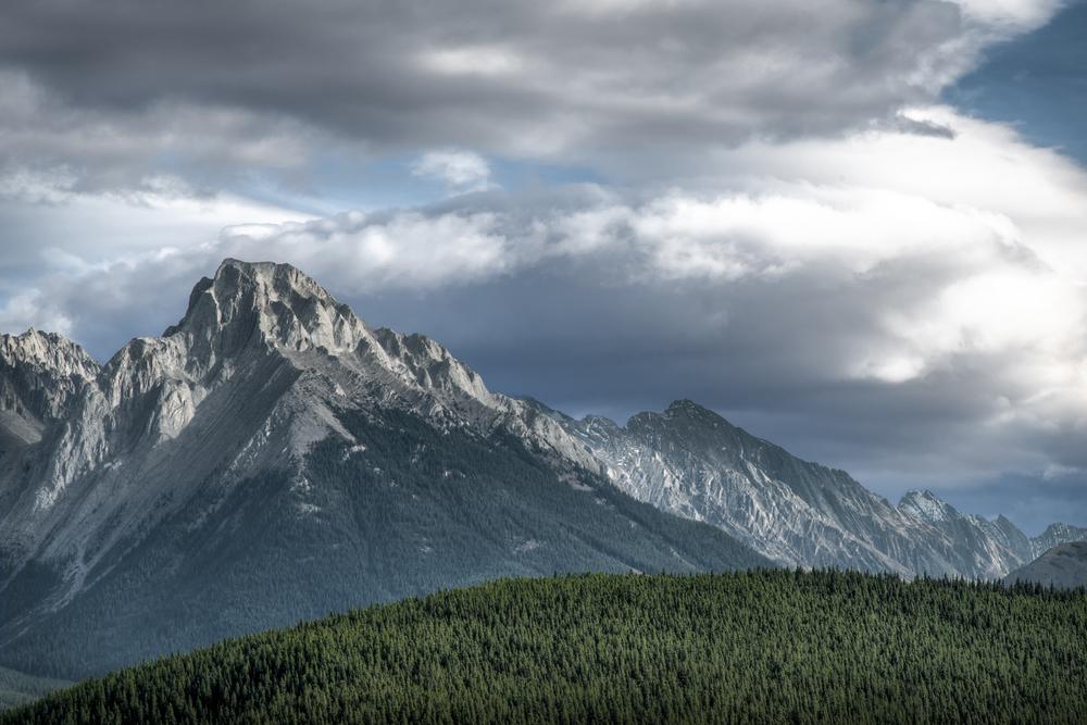 Gap Mountain Storm