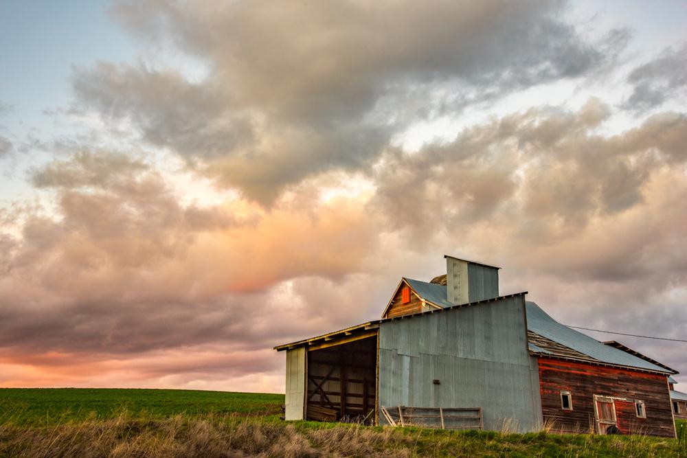 Red Barn Sunset #2