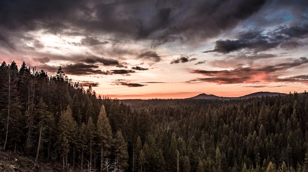 Potato Mountain Sunset