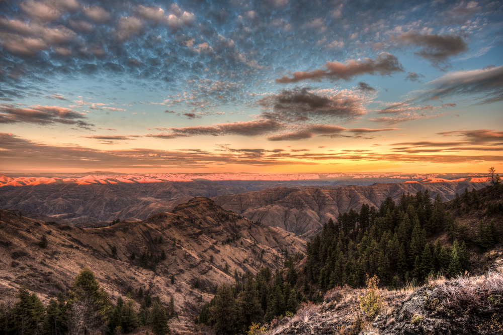 Hell's Canyon Sunset