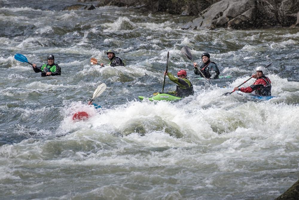 Kayaking the Lochsa