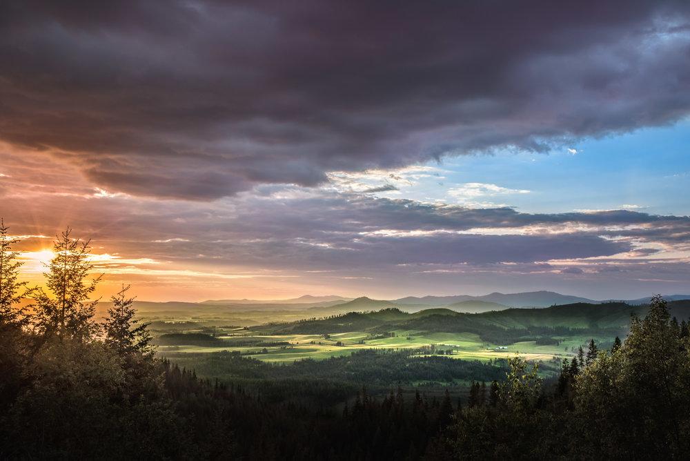 Latah County Sunset