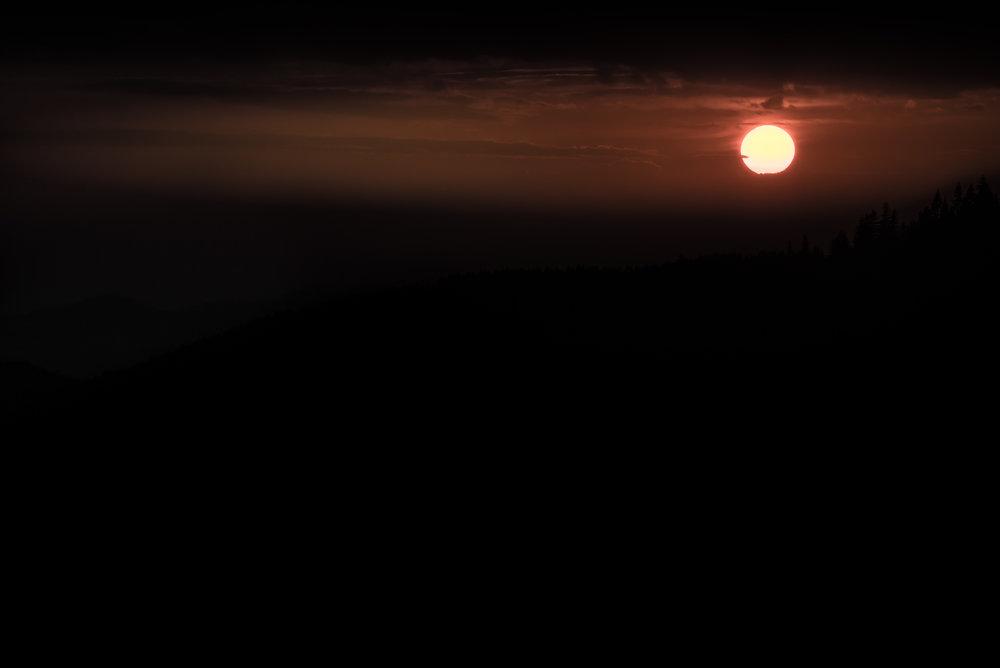 Autumn Sunset over Elk Creek Headwaters