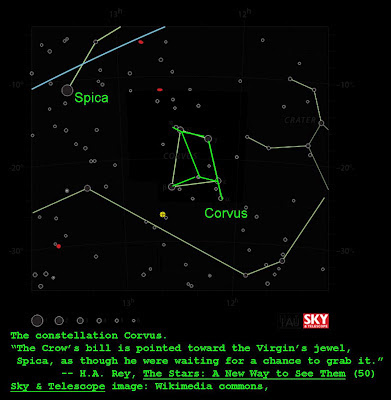 The constellation Corvus — Star Myths of the World