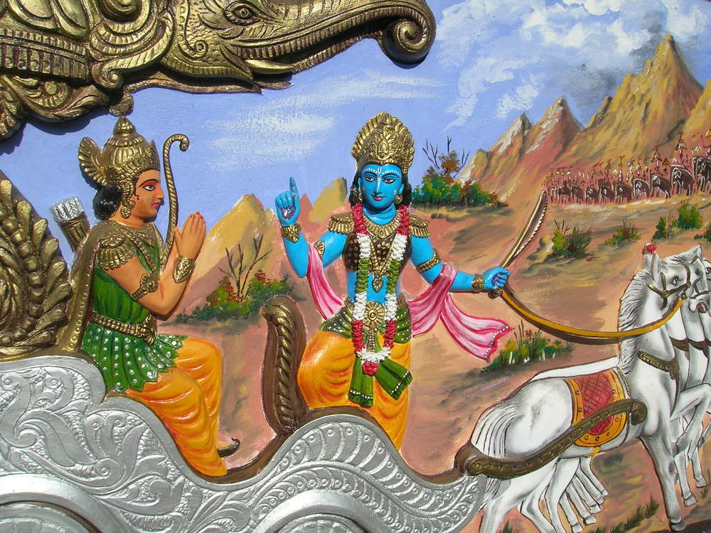 paragraph on lord krishna