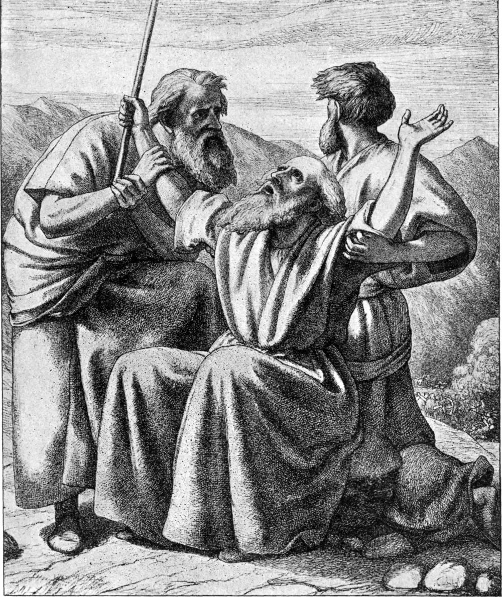 image:   Bible Pictures and What They Teach Us  , Charles Foster (1897).  Wikimedia commons (   link   ).