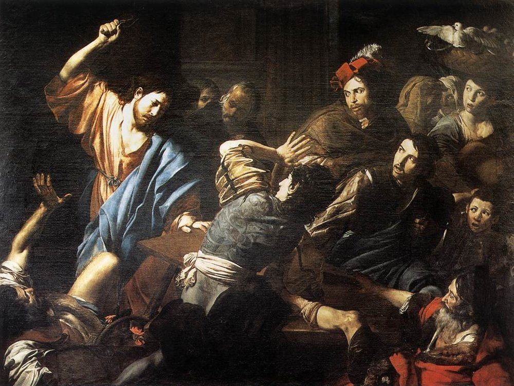 image: by Valentin de Boulogne (1590 - 1632). Wikimedia commons (link).