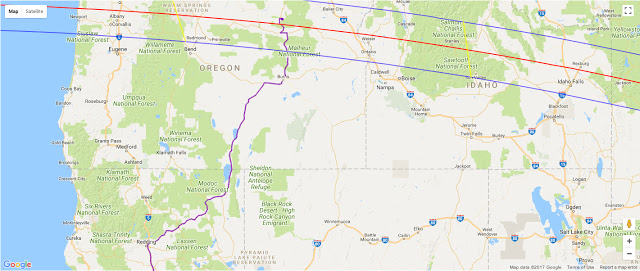 small scale map with eclipse path northwest and route.jpg