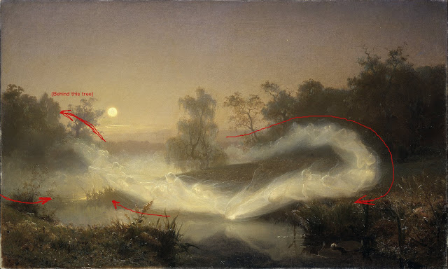 figure 8 or infinity symbol in August_Malmström_-_Dancing_Fairies_-_Google_Art_Project.jpg