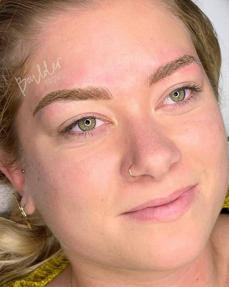 COMBINATION BROWS  BY JESS   | After