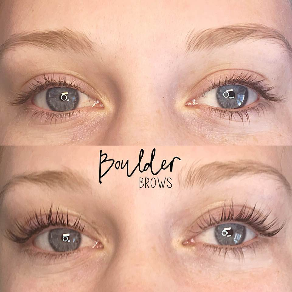 LASH LIFT & TINT BY INTERN