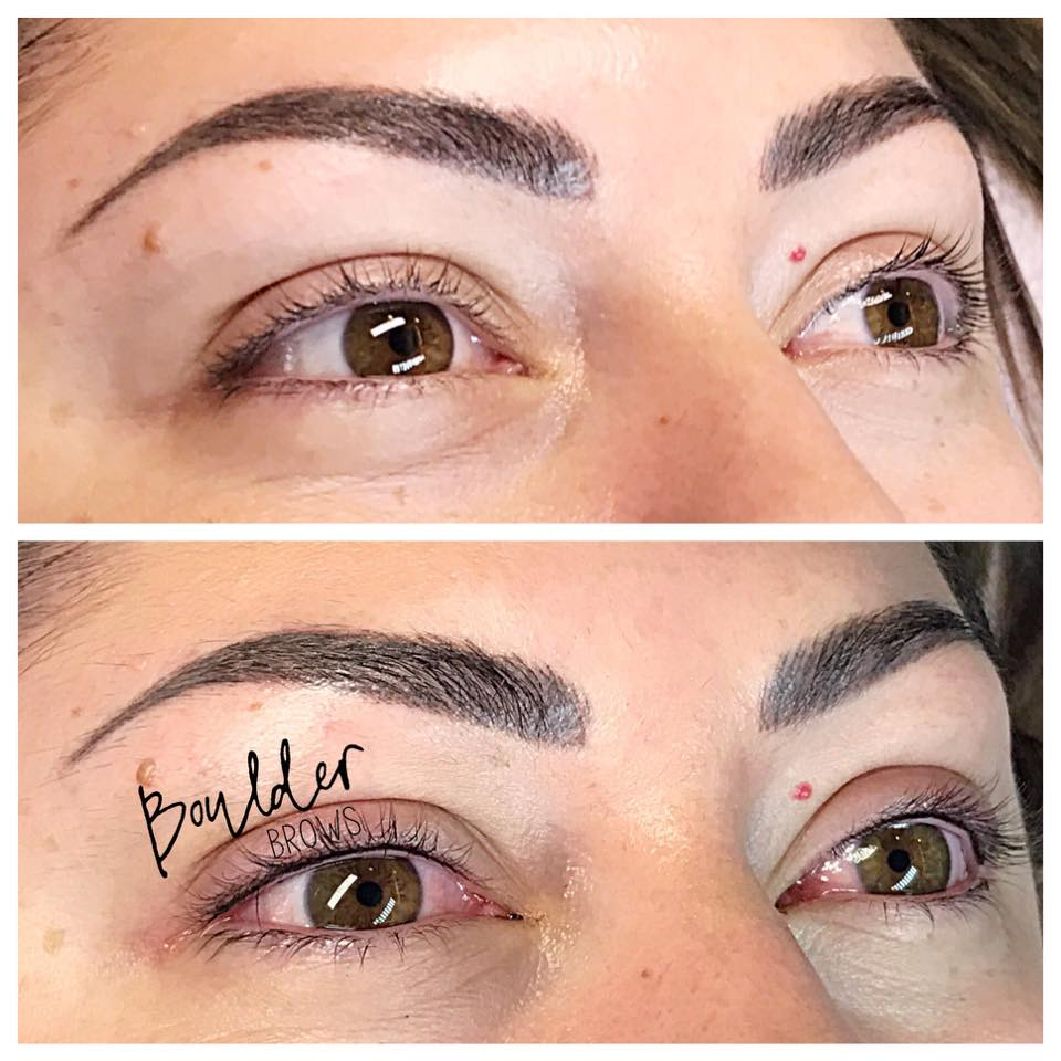 LASH ENHANCEMENT BY JESS Top: Before | Bottom: After