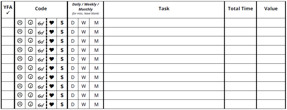 Task Worksheet -
