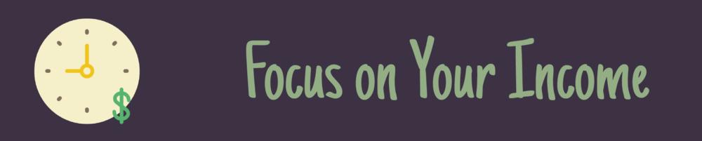 Focus on Generating Revenue