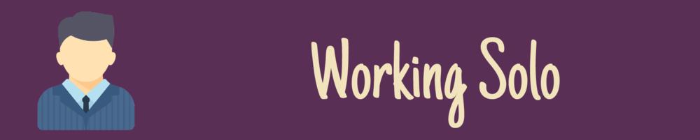 Solopreneur Working Solo