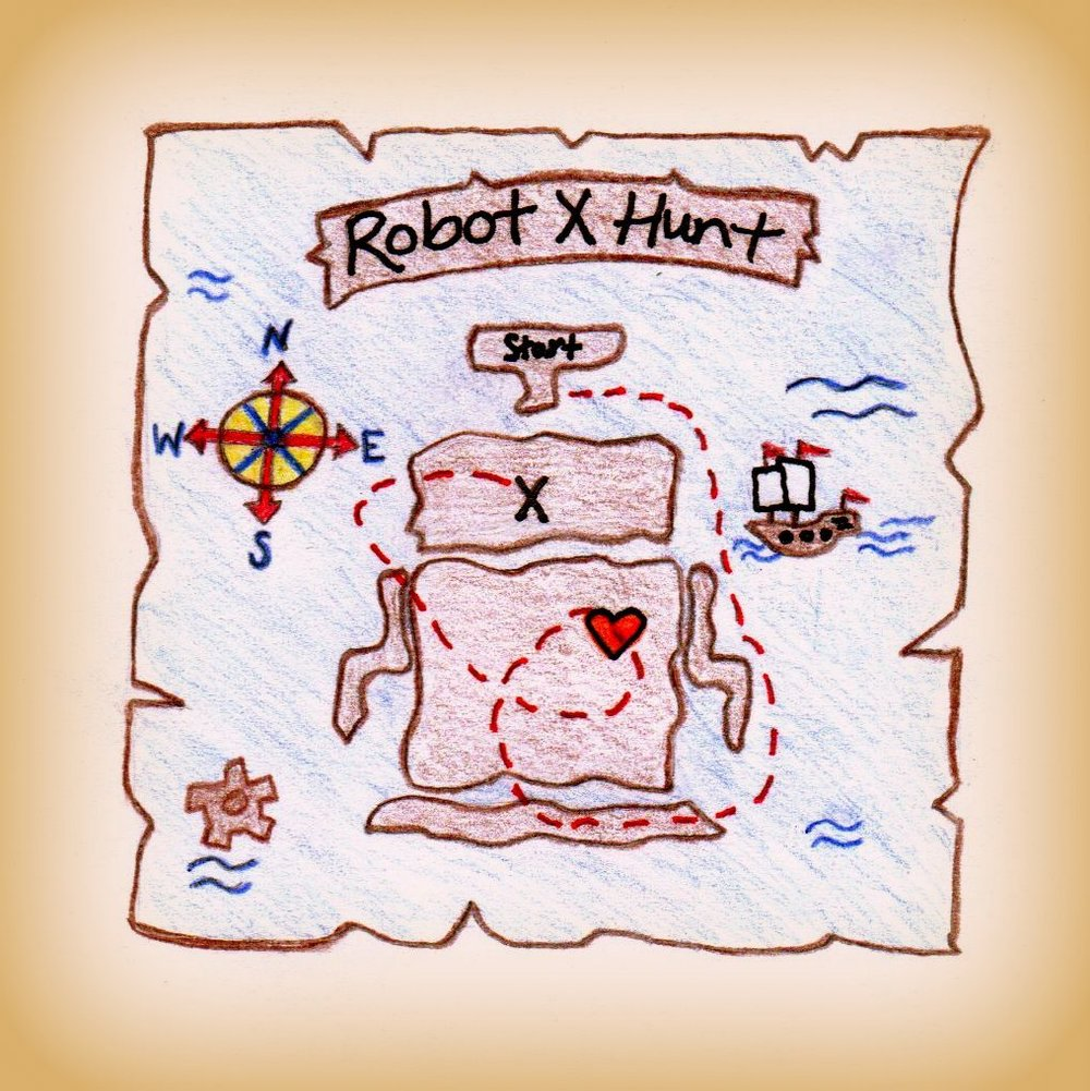 Welcome to the Robot X Hunt! - In celebration of 10 years of bot making, Norman is sending you on a treasure hunt. Along the way, you will encounter Bot Missions (tasks to be completed on different virtual sites) that will earn you entries in the final treasure chest drawing. You will be asked a question and you must tag @thebotconnection and #RobotXHunt to make sure that your entry is seen. The hunt ends Wed, Sept, 5 at midnight, and winners will be announced Thurs, Sept. 6.Captain Bot Prize: One person will win a Coupon Code for 50% Off Entire Purchase in the Adoption Shop and a Norman Ross Button.First Mates Prize: Two people will win a Coupon Code for 25% Off Entire Purchase in the Adoption Shop and a Bot Connection Button.Best Crew Prize: Five people will win a Coupon Code for 10% Off Entire Purchase in the Adoption Shop.