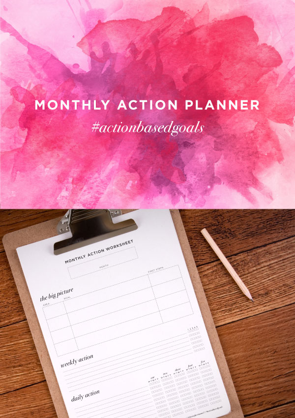 Monthly-Action-Planner