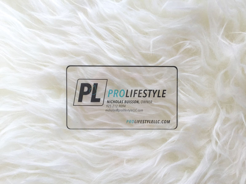 ProLifestyle Plastic Business Cards