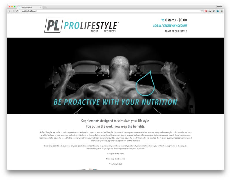 ProLifestyle-Homepage
