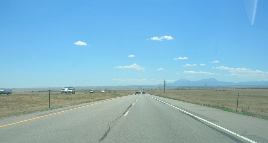 New Mexico driving.